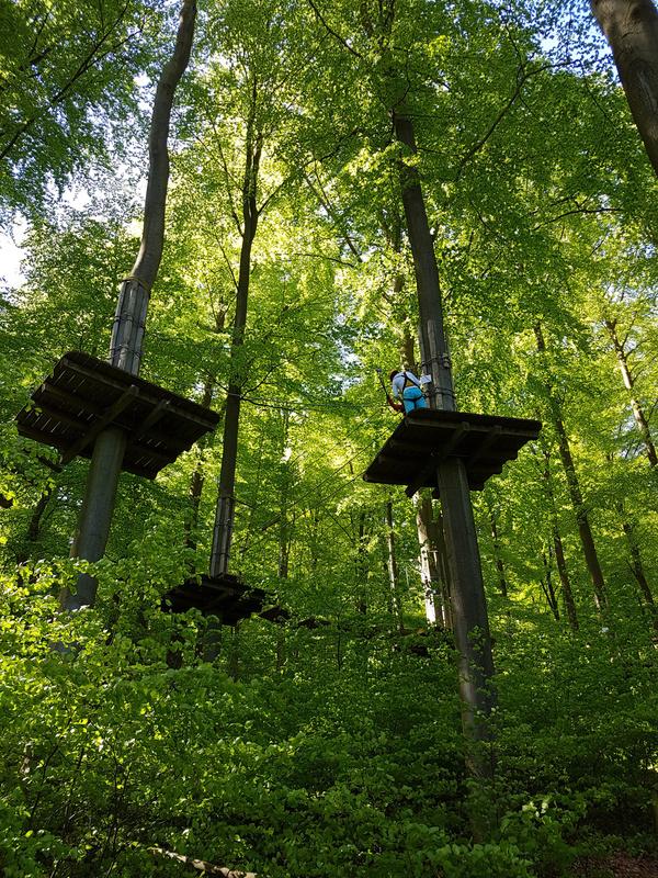 Kletterpark, Nationalpark, Kellerwald-Edersee