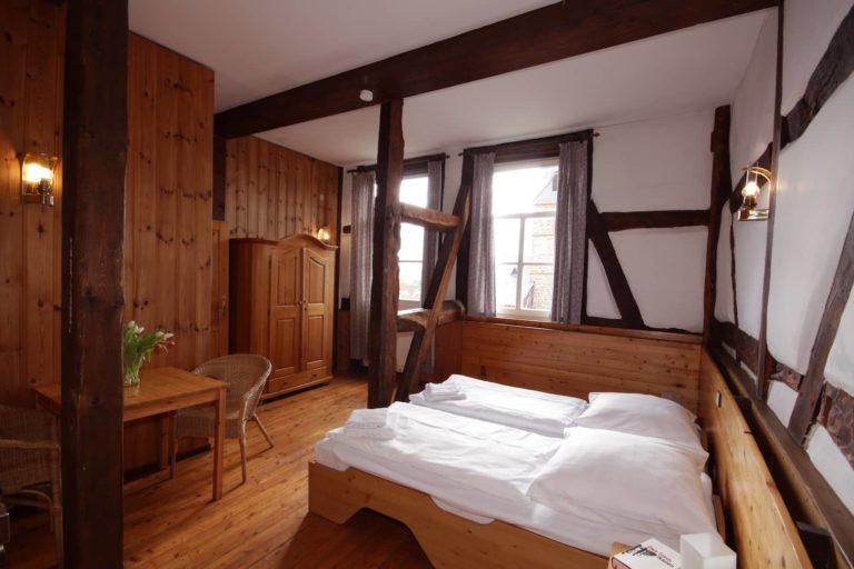 Schlafzimmer für 2 Personen in Apartment 32 - Teil der FeWo Fuchs