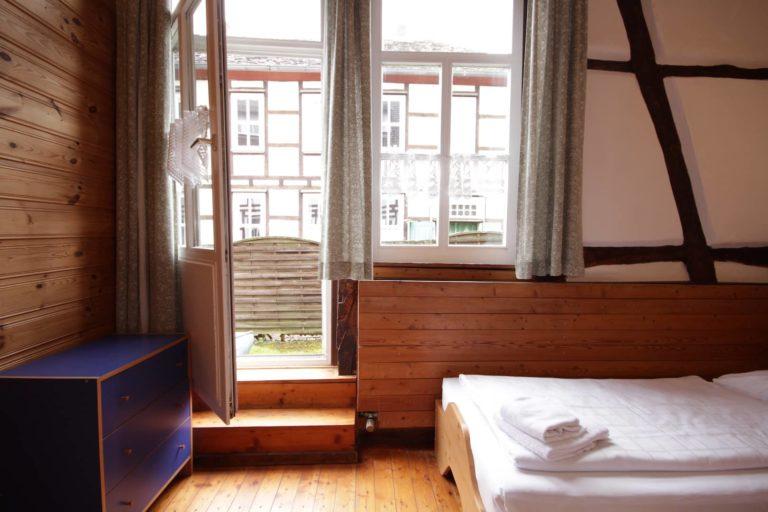 Zweibettzimmer mit Zugang zum Garten, Apartment 14