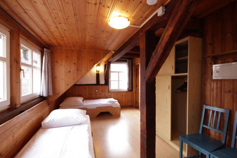 Apartment 39 mit 4 Einzelbetten, Teilansicht