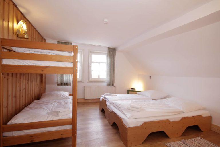 Hinterer Schlafraum im Apartment 62 Teil der FeWo Amsel