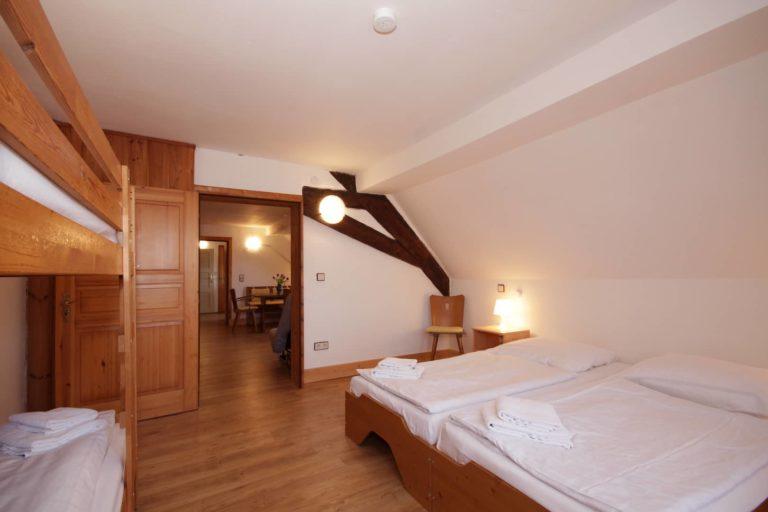 Hinterer Schlafraum Apartment 63; Teil der FeWo Amsel