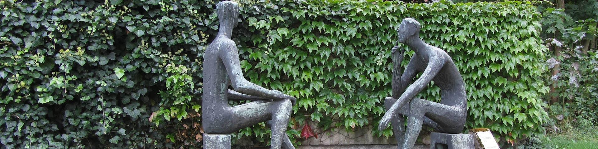 Bild einer Skulptur
